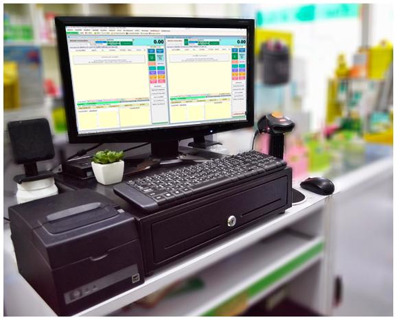 โปรแกรมร้านขายยา ไฮเจีย ฟาร์มาซี POS และ ระบบคอมพิวเตอร์ จะนำมาใช้งานหน้าร้านขายยา